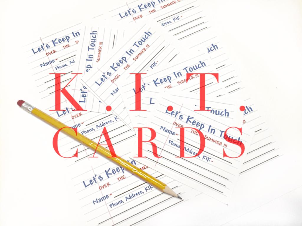 K.I.T. Cards
