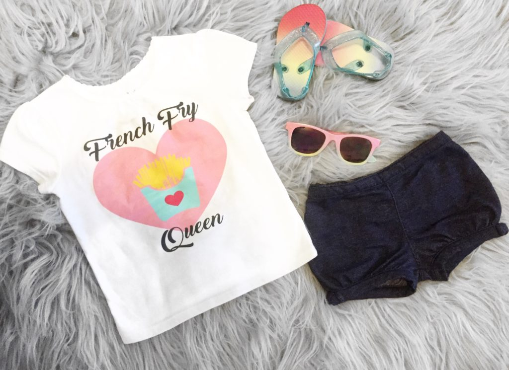 French Fry Queen (w| Moderne Kids Couture)