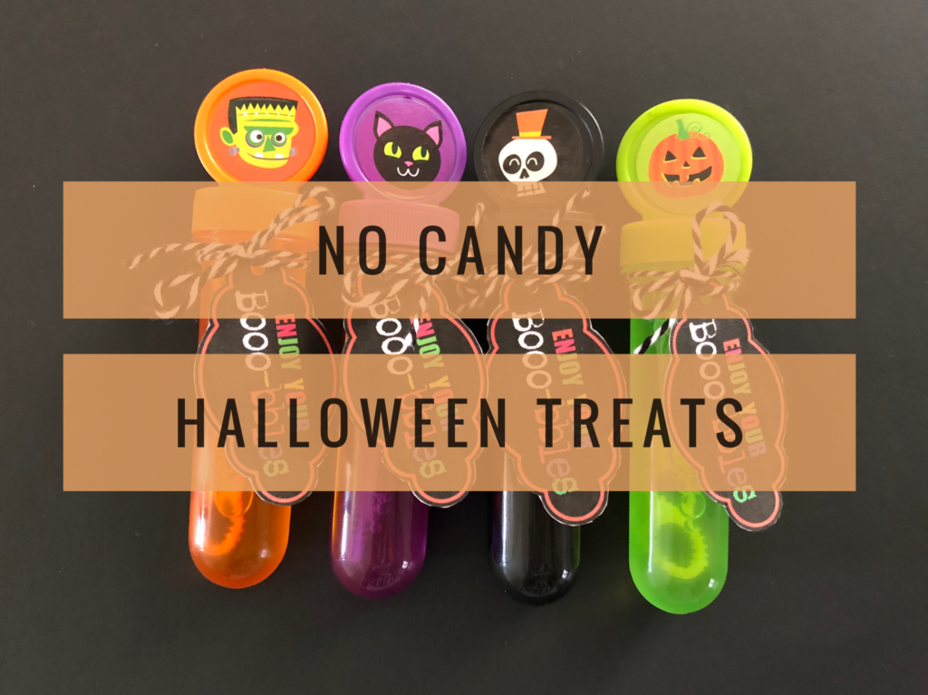 No Candy Halloween Treats